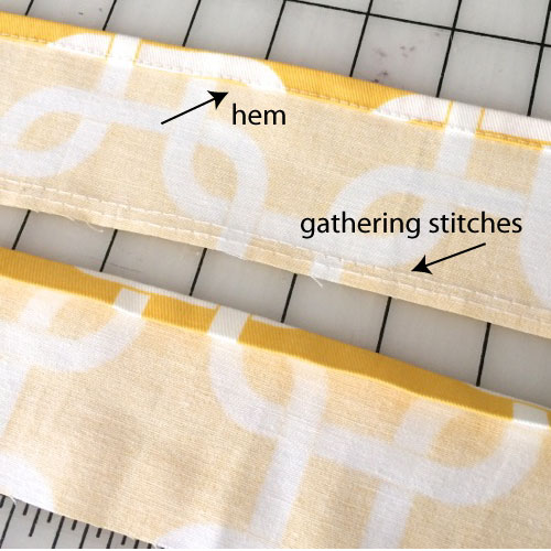 A tea towel tutorial - Stop staring and start sewing!